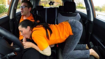 Teen Drives Her Instructor Bonkers